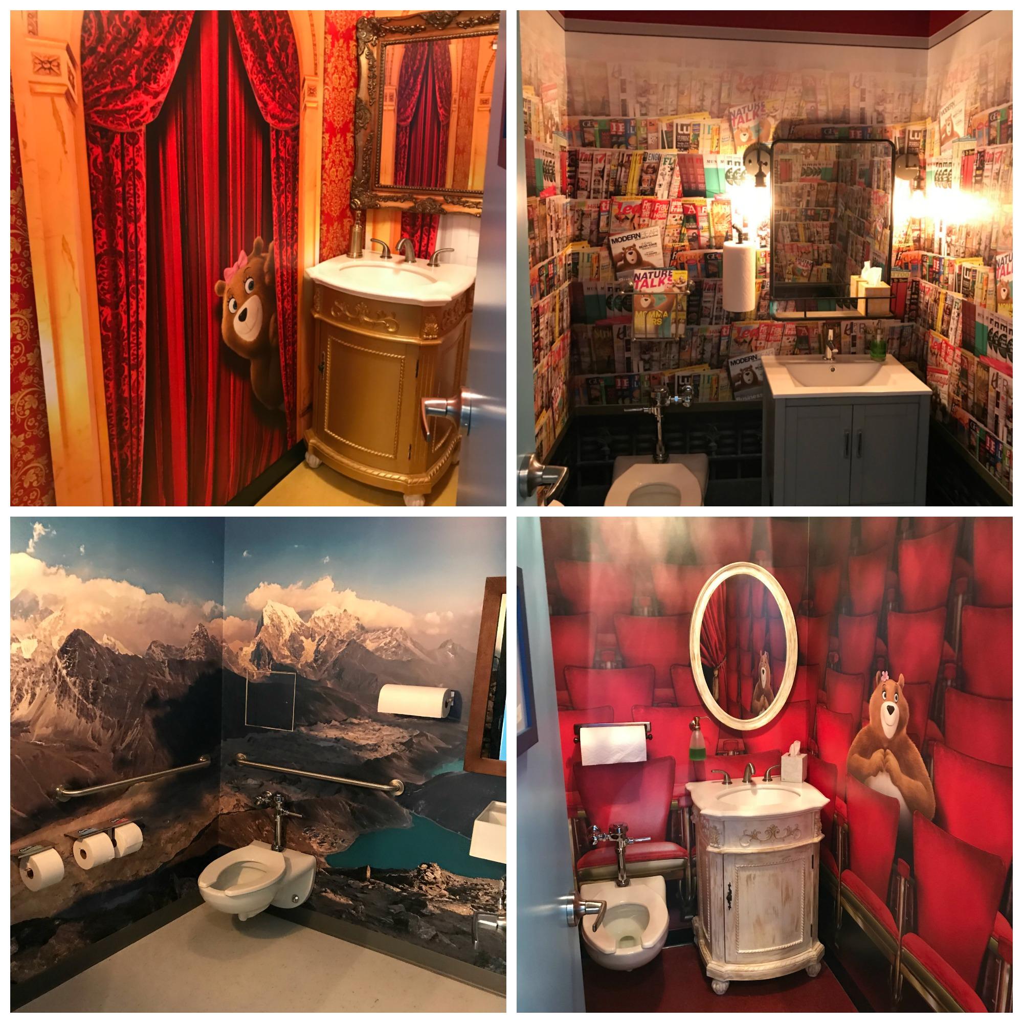 Charmin bathroom nyc