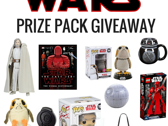 Biggest #StarWars Giveaway EVER! #TheLastJedi #THBGiveaway @StarWars