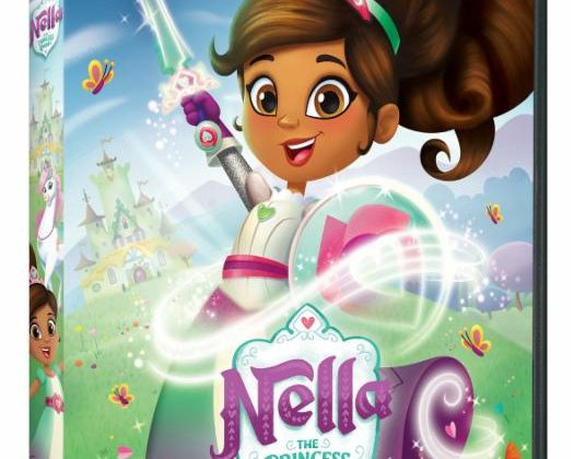 Giveaway – @NickelodeonDVD's Nella the Princess Knight DVD!