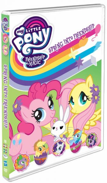 My Little Pony – Friendship Is Magic: Spring Into Friendship DVD!