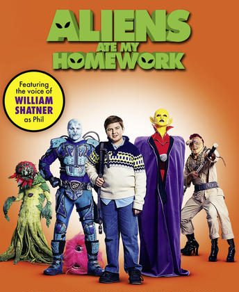 """""""Aliens Ate My Homework,"""" With William Shatner, Coming to DVD, Digital and On Demand on March 6! @AliensAteMyHW #AAMH"""