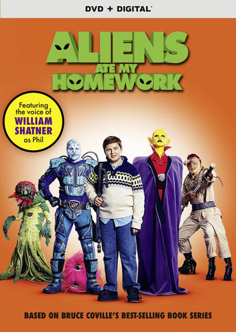 """Aliens Ate My Homework,"" With William Shatner, Coming to DVD, Digital and On Demand on March 6"