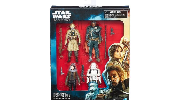 Giveaway – #StarWars – Rogue One Jedha Revolt Action Figures 4-Pack! @StarWars #RogueOne