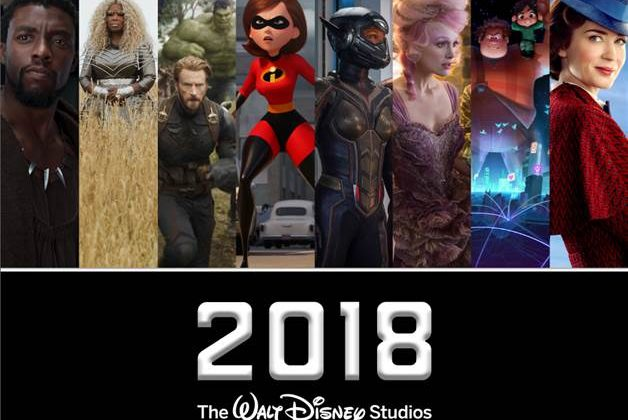 Walt Disney Studios 2018 Motion Pictures Slate is Finally Here! @DisneyStudios @Marvel ‏#LucasFilm @DisneyPixar @DisneyAnimation