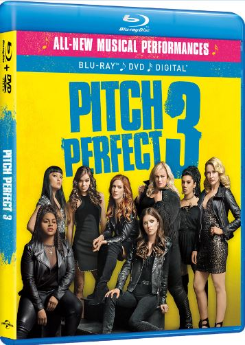 Pitch Perfect 3 Out on Blu-ray, DVD, & On Demand March 20th! @PitchPerfect #PitchPerfect3