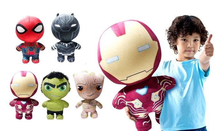 Marvel Inflate-A-Heroes #InfinityWar Characters Launch Now on Groupon! #Marvel #BlackPanther #Hulk @DglToys #ad @Groupon #Groupon
