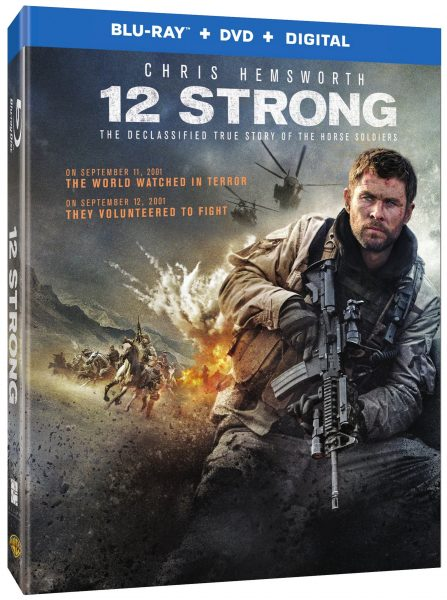 """Giveaway - """"12 Strong"""" DVD Starring Chris Hemsworth! #12StrongMovie @the12Strong #promo"""