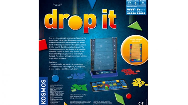 Giveaway – Thames & Kosmos New Family Board Game, Drop It!