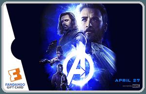 Giveaway – $25 Fandango Gift Card for #InfinityWarEvent! @MarvelStudios #InfinityWar #Marvel