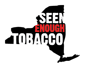 We Have Seen Enough Tobacco Ads, Get Them Out of Sight! @TobaccoFreeNYS #ad #SeenEnoughTobacco #IC