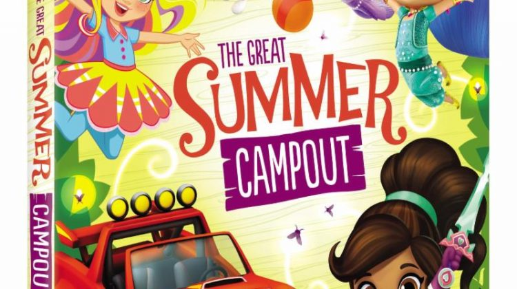 Giveaway – @NickelodeonDVD's Nickelodeon Favorites: Great Summer Campout DVD!