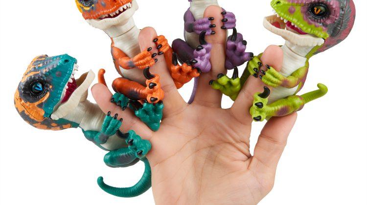 Giveaway – Brand New Untamed Raptor Fingerlings! #FerociousFriday #Fingerlings @WowWeeWorld #Ad