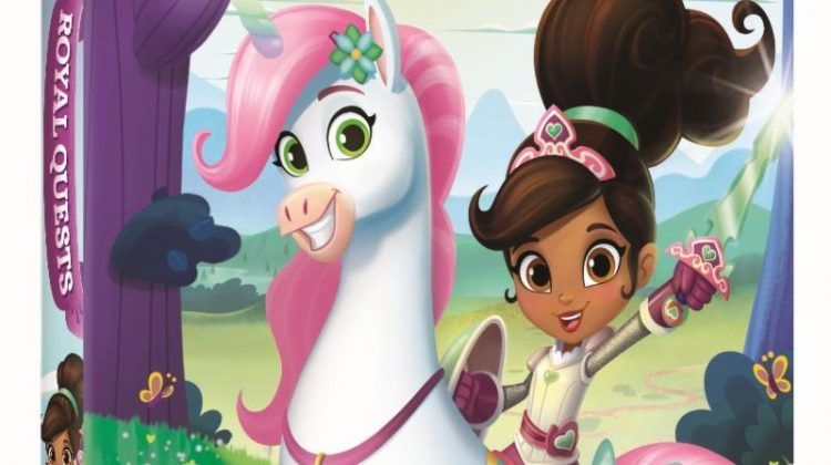 Giveaway – @NickelodeonDVD's Nella the Princess Knight: Royal Quests DVD!
