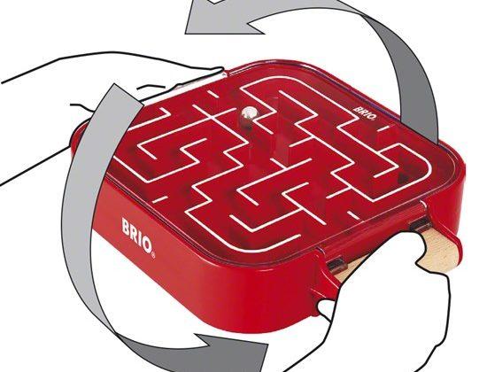 Giveaway – BRIO Take Along Labyrinth! #BRIO #BRIOWorld