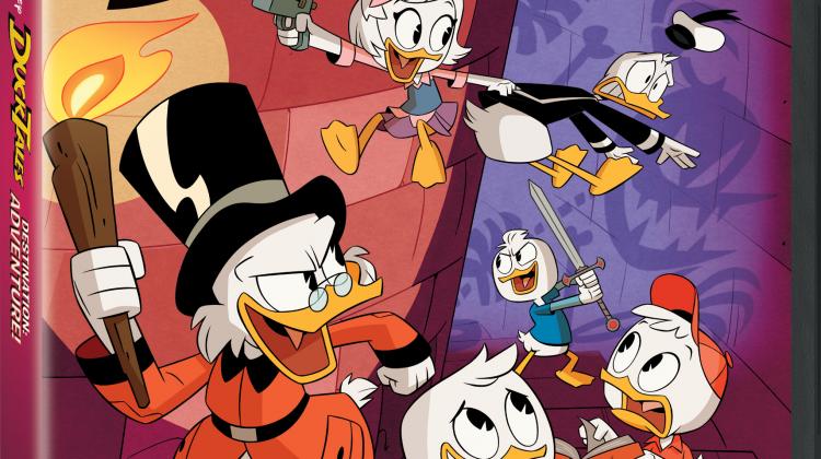 NEW! Activity Button – Disney's DuckTales Destination: Adventure – Buy It on DVD!