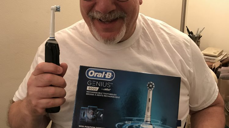 Oral-B GENIUS 8000: Amazon's Deal of the Day For Father's Day, And My Best Toothbrush! #Ad #OralBFathersDay #DOTD @OralB
