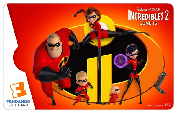 giveaway huge incredibles 2 prize package from fandango