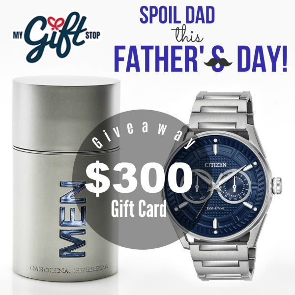 "Shop ""My Gift Stop"" For Father's Day & Enter to Win $300! #Ad #FathersDay #Gifts @MyGiftStop #giveaways #contests"