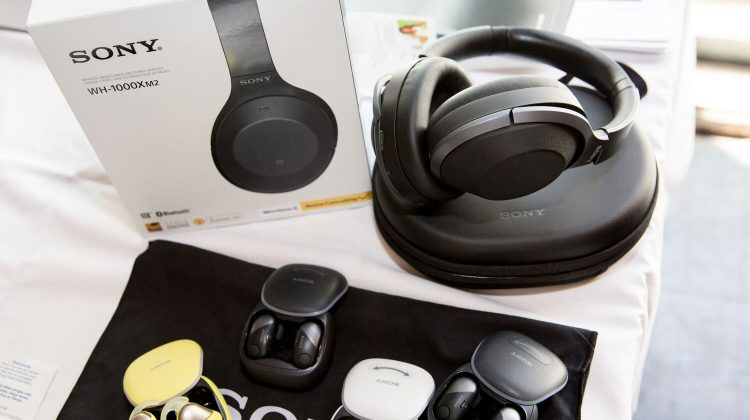 Giveaway – @SonyElectronics Wireless Noise-Canceling Headphones for Sports! MSRP $180! #CTATravel @Techlicious @CTATech