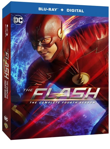 The Flash: The Complete Fourth Season Blu-ray - Out This Tuesday, August 28! @CW_TheFlash