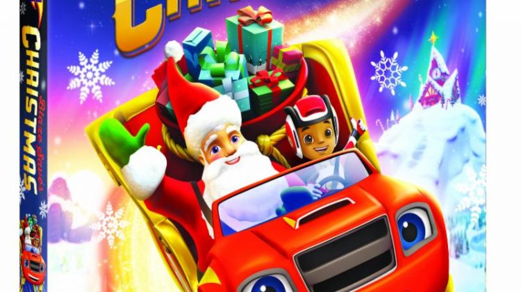 Giveaway – @NickelodeonDVD's Blaze and the Monster Machines: Blaze Saves Christmas DVD!