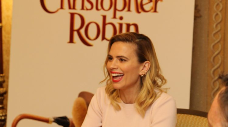 "Chatting With Hayley Atwell, ""Evelyn Robin"" or Mrs. Christopher Robin To You! #ChristopherRobinEvent #RalphBreaksTheInternetEvent #ChristopherRobin"