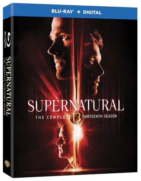 Supernatural Season Lucky 13 on Blu-ray September 4th!