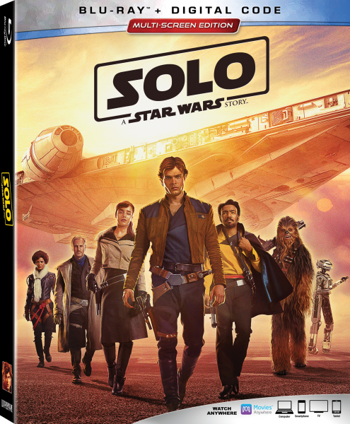 """""""Solo: A Star Wars Story"""" on Blu-ray September 25th"""