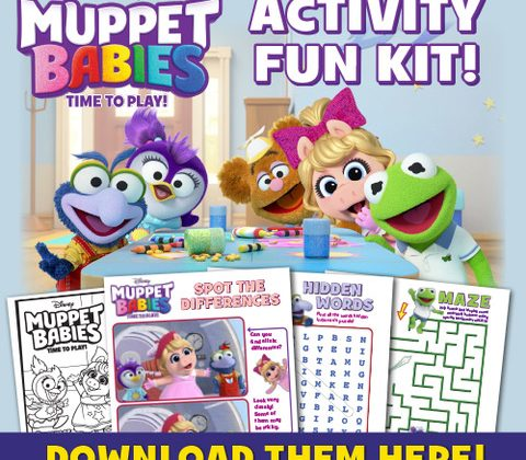 Muppet Babies: Time To Play! Now Available on Disney DVD! Plus A New Activity Button To Celebrate! #MuppetBabies @DisneyChannelPR