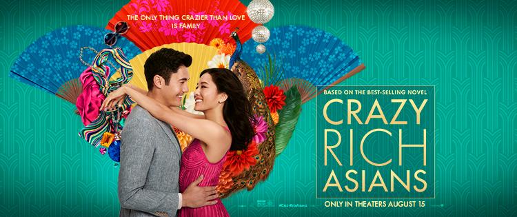 Crazy Rich Asians Opens August 15th! @crazyrichmovie #CrazyRichAsians