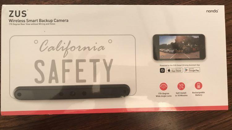 Giveaway – ZUS Wireless Smart Backup Camera From Nonda! @nondainc