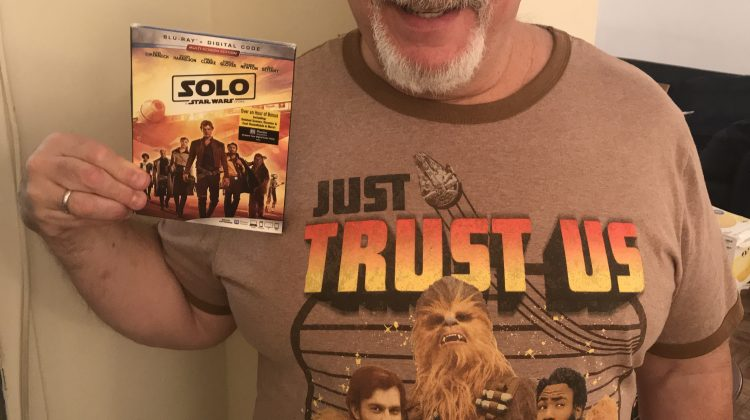 """Solo: A Star Wars Story"" on Blu-ray Combo Now! See Me Celebrate As a Wookie! @starwars #starwars #HanSolo #SOLOAStarWarsStory #Ad"