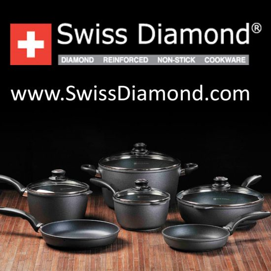 Swiss Diamond: Swiss Made Nonstick Cookware