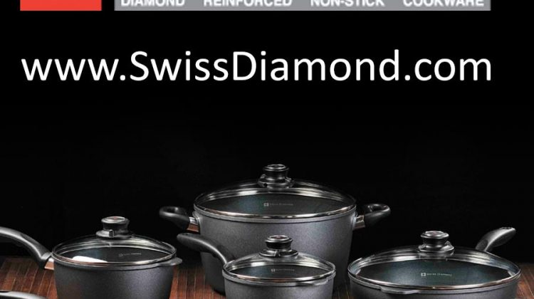 Swiss Diamond: Swiss Made Nonstick Cookware – I Am Cooking With Diamonds! #Ad @swissdiamond