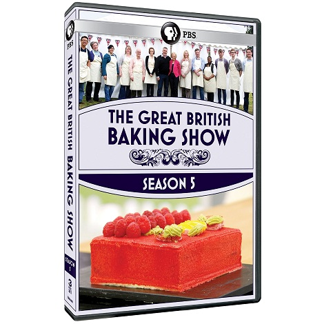 The Great British Baking Show, Season Five DVD is Fabulous!