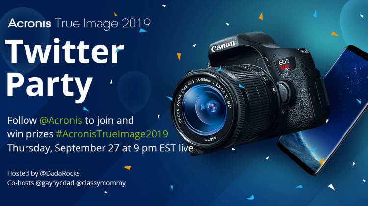 Biggest Twitter Party of the Year With @Acronis on Thursday, 9pm EST! Amazing Prizes! #AcronisTrueImage2019 #Ad