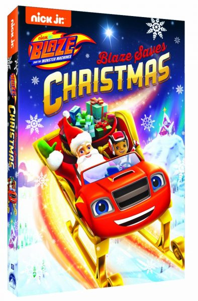 NickelodeonDVD's Blaze and the Monster Machines: Blaze Saves Christmas DVD!