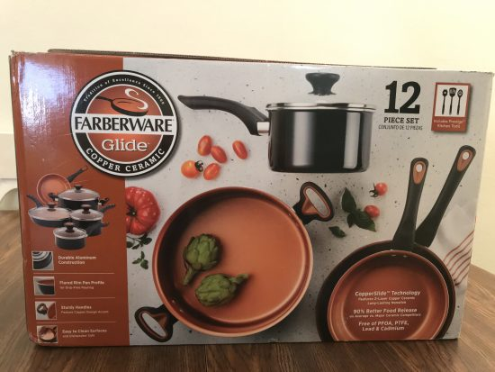 Farberware Glide, Copper Ceramic Pots & Pans For Your Kitchen
