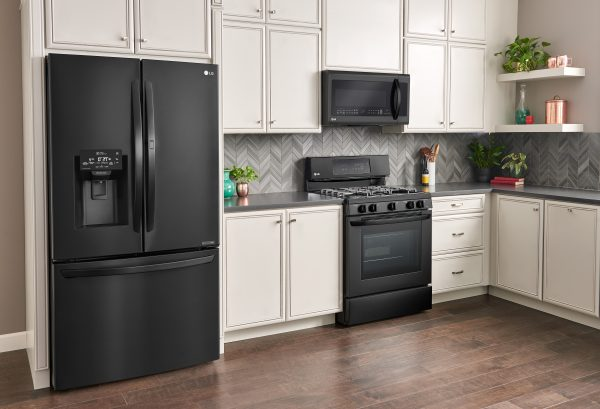 LG Matte Black Kitchen's Are Gorgeous & Available Best Buy
