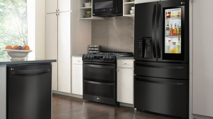 LG Matte Black Kitchen's Are Gorgeous & Available @BestBuy! @LGUS #ad