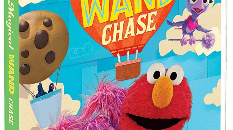 """Double Giveaway – Sesame Street – """"The Magical Wand Chase"""" DVD! W/ Printable! @SesameStreet #SesameStreet @Elmo #Elmo"""