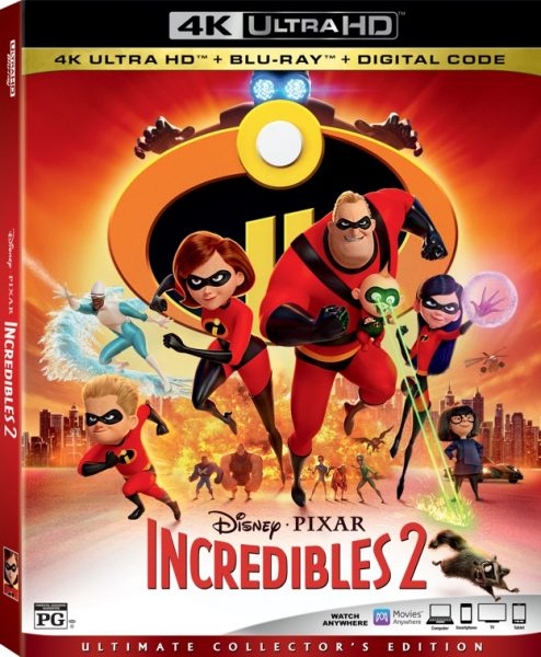 Disney's Incredibles 2 Blu-ray