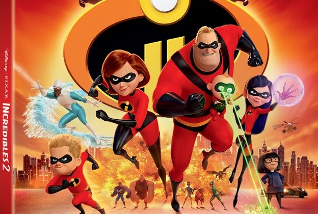 "Giveaway – ""Incredibles 2"" Blu-ray + Digital Combo! Arrives On Digital Oct. 23 & on Blu-ray Nov. 6! #Incredibles2 @DisneyPixar @TheIncredibles #AD"