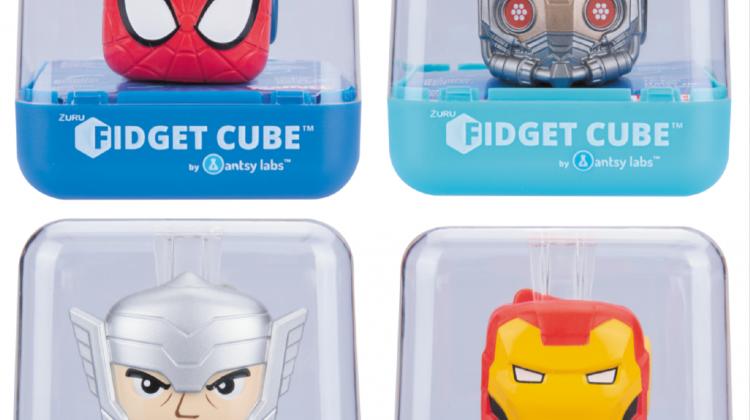Giveaway – Marvel Fidget Cubes! @Marvel #Marvel #ZuruToys