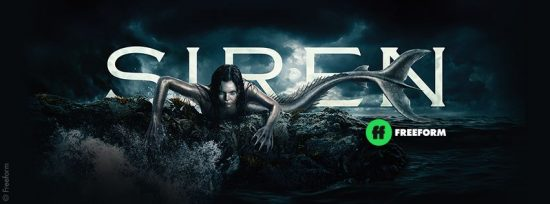 Mermaids Return On Thursday, JAN. 24,  @FreeformTV Announces Season Two Premiere Of 'SIREN' @SirenTV @FreeformTVPR