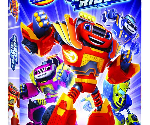 Giveaway – @NickelodeonDVD's Blaze and the Monster Machines: Robot Riders DVD!