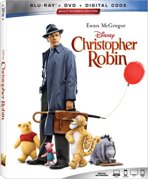 Disney's CHRISTOPHER ROBIN on Digital & Blu-ray Nov 6!