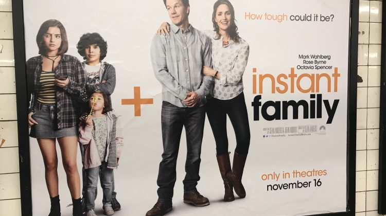 "Free Tickets! Paramount's ""Instant Family"" Preview on November 12th! @instantfamily #@instantfamily @ParamountPics #NYC"