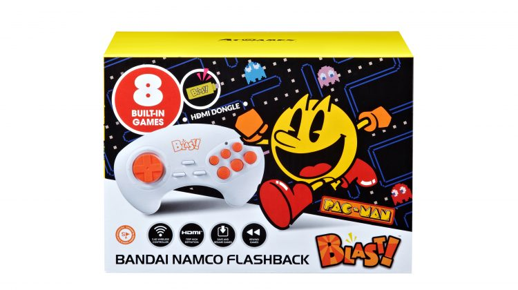 Giveaway – The Bandai Namco Flashback Blast! With 8 Gaming Mainstays, Including Pac-Man, Galaga and Dig Dug! @ATGFlashback #VideoGames #PacMan