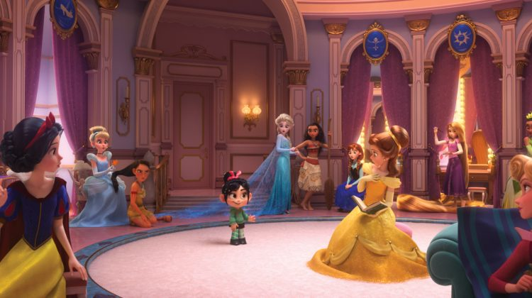 "Disney's ""Ralph Breaks The Internet:"" Oh My Disney.Com, Best Movie Scene Ever! #RalphBreaksTheInternetEvent #RalphBreaksTheInternet #ChristopherRobinEvent @wreckitralph"